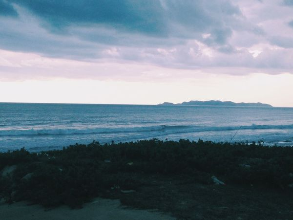 view Pulau Kapas Sea Beauty In Nature Scenics Nature Tranquil Scene Tranquility Sky Water Beach Cloud - Sky