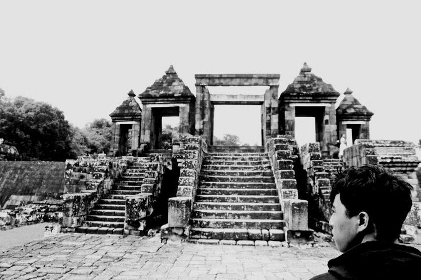 Ratu Boko Temple. That's Me Traveling Wonderful Yogyakarta Hindu Temple