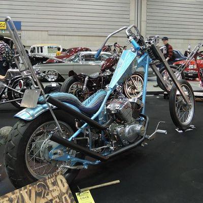 Yokohama hotrod custom show 2013 Hcs2013 Yamaha Xv250 Virago chopper bobber