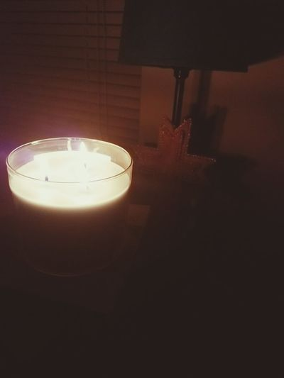 Flame Burning Candle Indoors  No People Cross Quiet Moments Refocus Silence