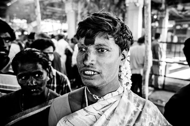 The Photojournalist - 2016 EyeEm Awards transsexual regrouping for the koovagam festival in the state of Tamil Nadu, south India
