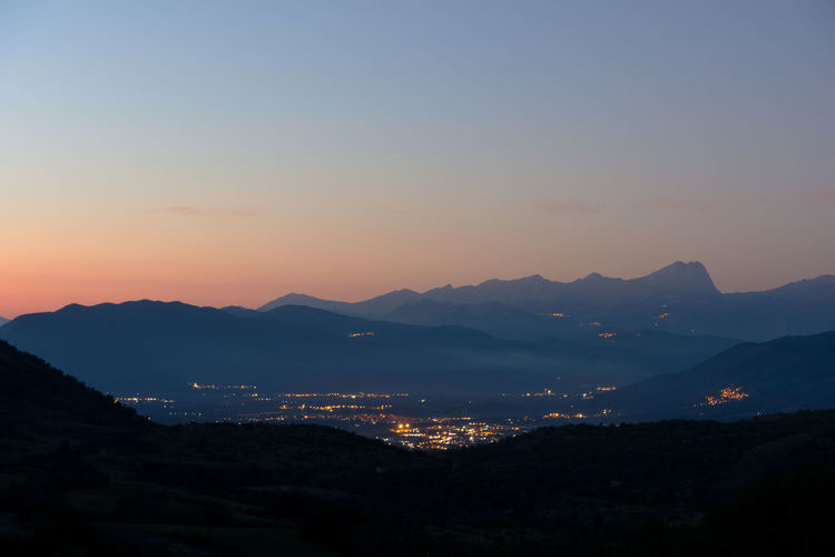 Tramonto sul Gran Sasso - Abruzzo - Italia Sunset Mountains Mountains And Sky Mountainscape Mountain Range No People Nofilter Evening Evening Sky Evening Light Evening Sun Landscape Scenics - Nature Outdoors Tranquil Scene Scenics Night Landscape Illuminated Long Exposure City Tranquility