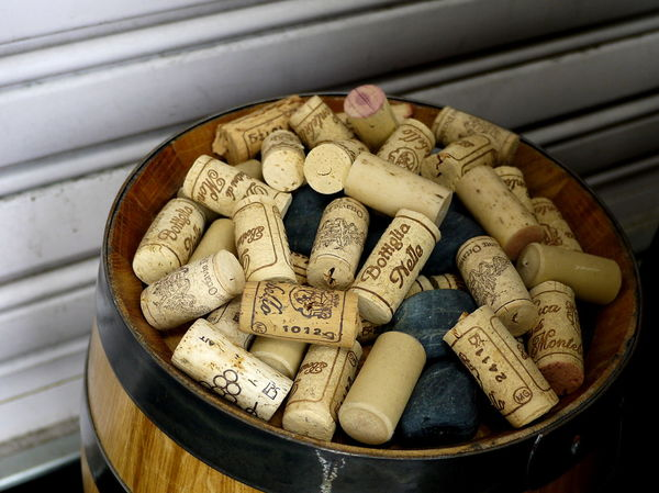 Abundance Arrangement Barren Close-up Focus On Foreground Group Of Objects Large Group Of Objects No People Outside Restaurant Still Life Wine Corks