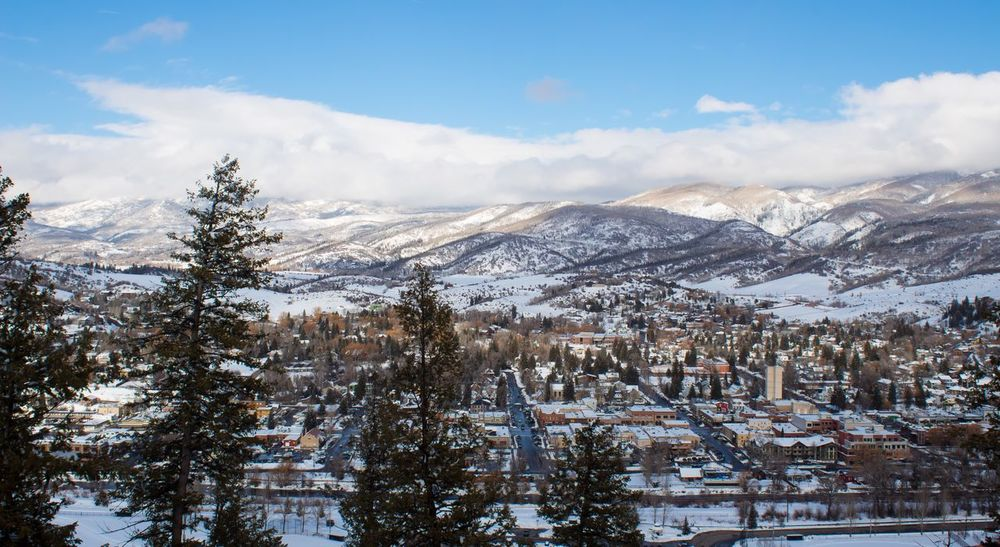 Downtown Steamboat Springs view ✨ Colour Your Horizn Cold Temperature Winter Beauty In Nature Mountain Landscape Tranquility Outdoors No People Snowcapped Mountain Cloud - Sky Mountain Range Nature On Your Doorstep Earth Experience DreamScapes Lost in the Landscape Travel Destinations
