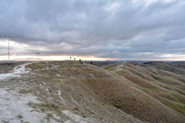 Bukit Wairinding, Sumba, Indonesia Dry Grass Sky Cloud - Sky Scenics - Nature Land Beauty In Nature Tranquility Tranquil Scene Landscape Nature Environment Outdoors