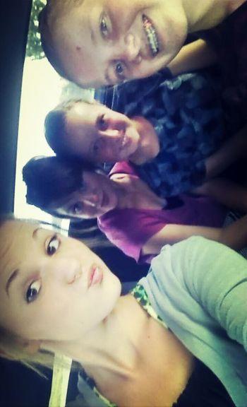 With ma girls!(; Gonnabeagreatsunday