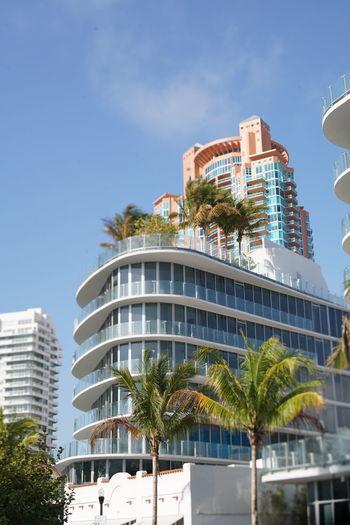 Architecture City City Street Miami Beach South Beach, Miami Beach Building Exterior Summer