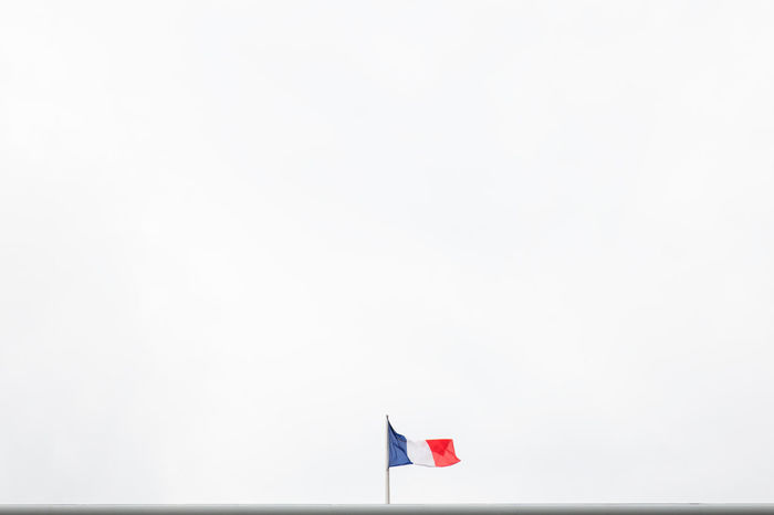 France Roof Copy Space Day Flag French Nature No People Outdoors Patriotism Sky Vive La France