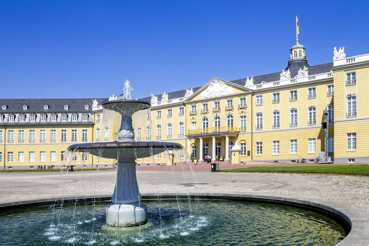 Karlsruhe Schloss Karlsruhe Schloss Castle No People Nobody Baden-Württemberg  Germany