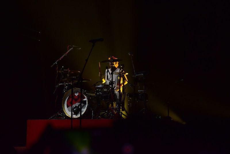 Music Musical Instrument Drum Kit Rock Music Performance Stage - Performance Space Josh Dun TwentyOnePilots