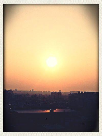 2013最後夕陽。
