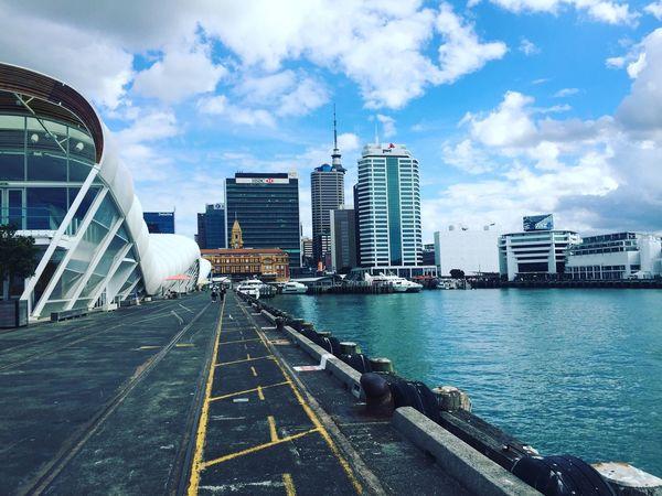 Cloud9 Auckland Harbour Sea Seaside