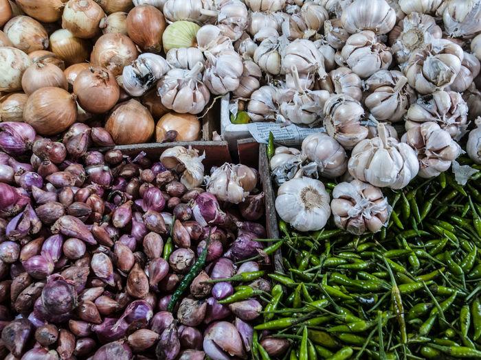 Garlics,