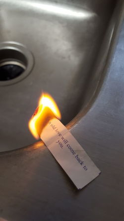 Got fortune? Not On My Watch Fortune Cookie Fire Lies Truthhurts