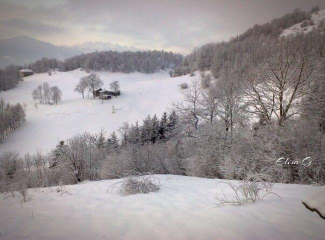 Snow ❄ Valtaleggio Bergamo Italy Italia Capodanno Ghiaccio Photography Hello World Relaxing Taking Photos Ogni Viaggio Ha Un Suo Ricordo ..❤ White