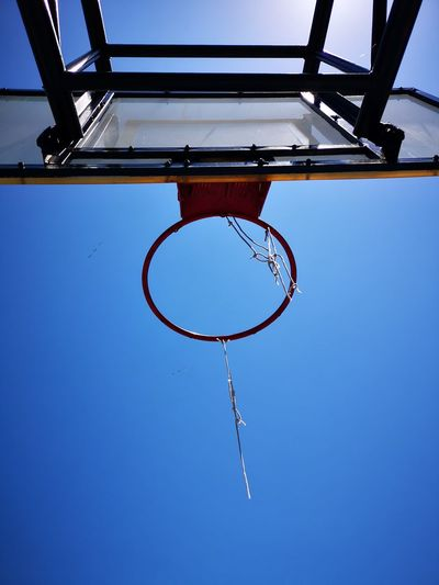 Basketball - Sport Court Tennis Basketball Hoop Sport Clear Sky Net - Sports Equipment Competition Competitive Sport Leisure Games