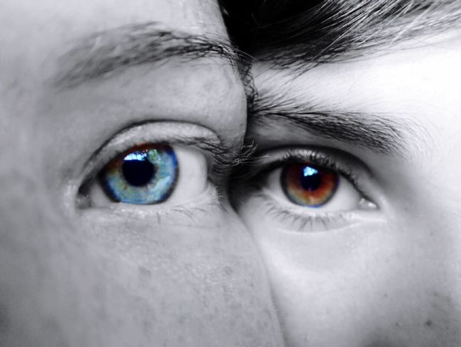 Eyes Eyes Contrasting Colors Mother&son Love Togetherness Macro Blackandwhite