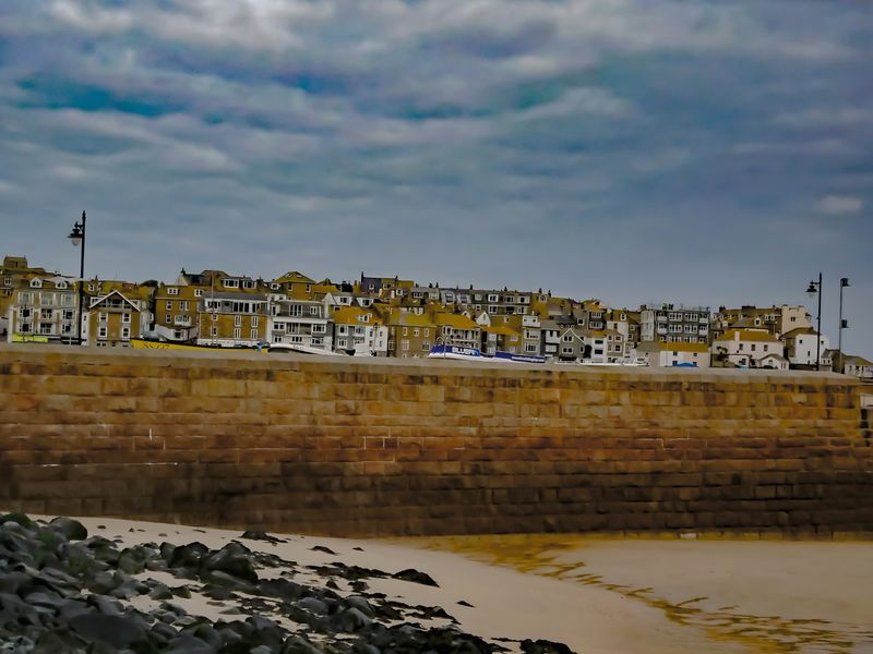 St Ives Harbour Landscape No People Outdoors Architecture Water Sky Sea Beachphotography Seascape Buildings And Sky Rural Scene Seaside Beach Sea Horizon Over Water Seascape Photography Building Exterior Built Structure Stivesharbour Beauty In Nature Houses Seascape_lovers