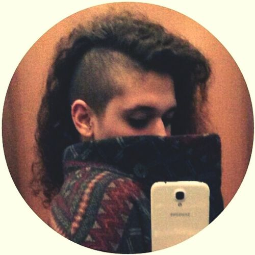 Shaving Head Halfshave Curly Hair Shaved Head