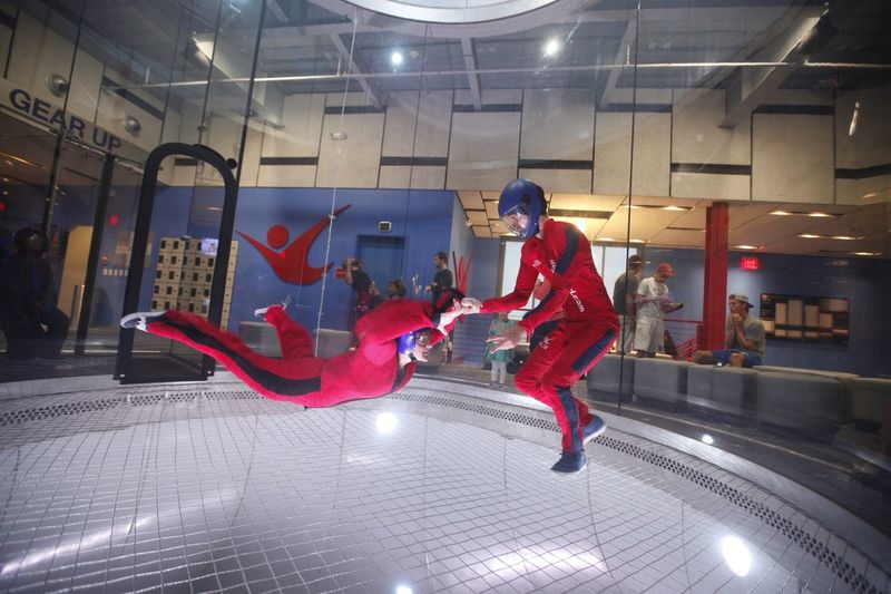 Crazy experience!! IFly Vacation Having Fun Cousin