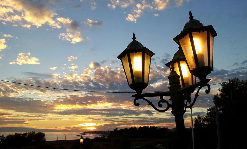 Tonight Vilanovailageltru Sunset Puestadesol