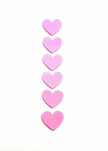 Heart Shape Hearts Isolated On White Isolated White Background Love No People Pink Pink Color Pink Heart Pink Hearts Studio Shot White Background