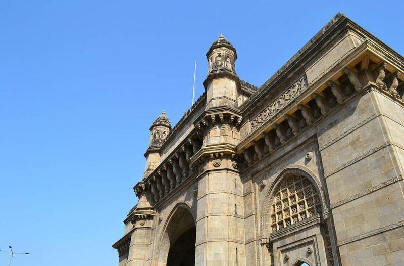 Gateway of India, Mumbai, India. Architecture Blue Travel Destinations Gatewayofindia Gatewayofindiamumbai Sky Skyblue Mumbai Mumbaiphotography
