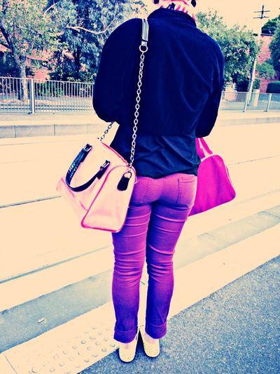 Random Getting Inspired Purple Style