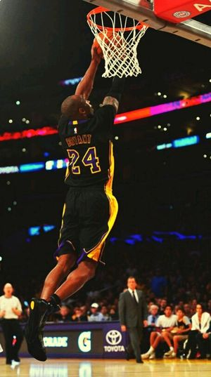 Mamba Mentality 🔥 NBA Mamba Kobe Bryant Lakers Basketbol Jumping Basketball - Sport Skill  Sport Basketball Hoop Activity Adult First Eyeem Photo