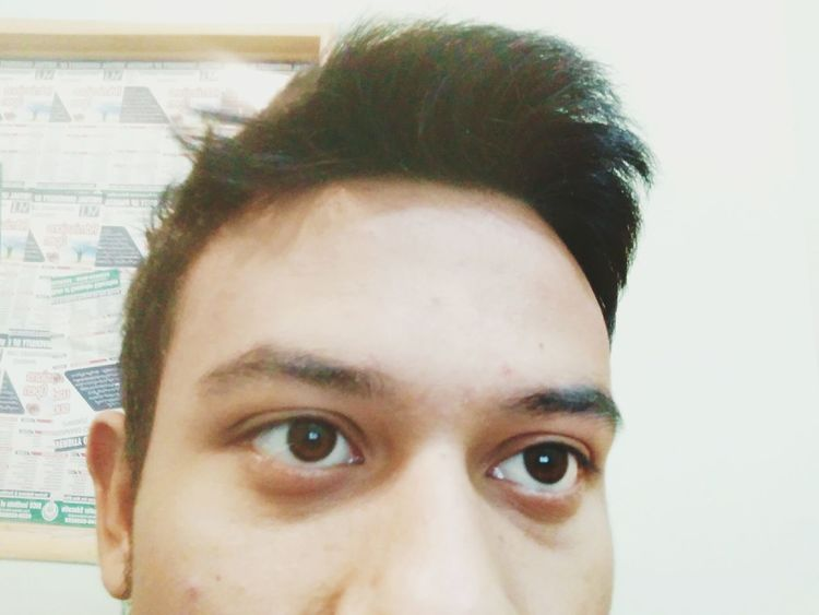 Portrait Human Eye Human Face Headshot Looking At Camera Close-up
