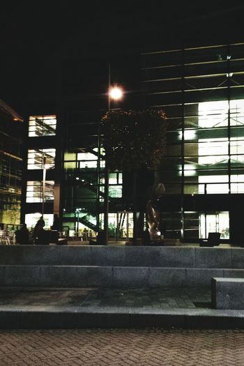 Night Time Library Studying Architecture Building University Of Leicester University Life
