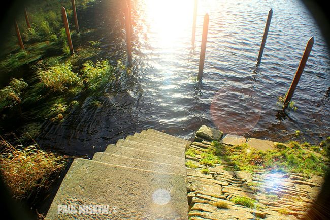 Magic Water Reflection In The Water Steps Glittering Check This Out That's Me Relaxing Hi! Enjoying Life