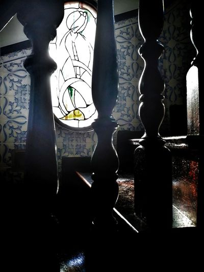 Just a stairway to tulips Glass Windows With Reflections Stairway Stairway To Light Tulip Glass Art Glass Artwork Tiles Textures Tiles Architecture Window Close-up Decorative Art Bas Relief Representing Ornate Stained Glass Carving - Craft Product Decoration Fresco Sculpture