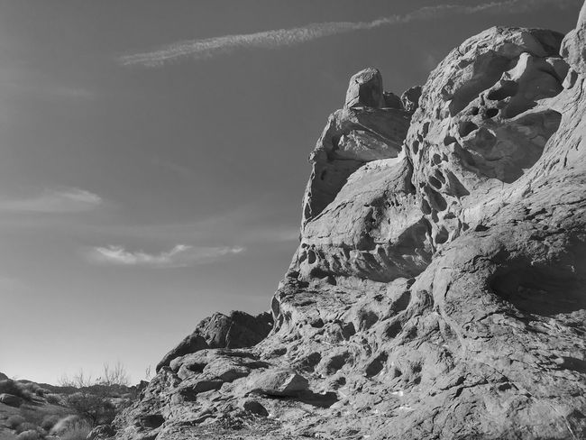 Black and white of sandstone rock formations Black And White Rock - Object Rock Formation Nature Physical Geography Tranquility Geology Tranquil Scene Scenics No People Landscape Sky Outdoors Mountain Day Beauty In Nature