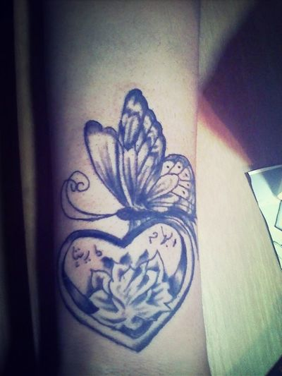 In love With My New Tat <3
