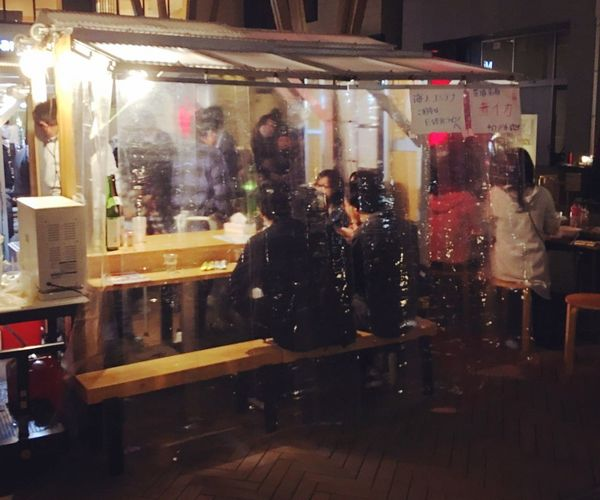Japanese night market Night Store Reflection Real People Illuminated Men Indoors  People Vender Food Vender Eating Fall Midfallfestival Life Japan Japan Photography Street Streetphotography
