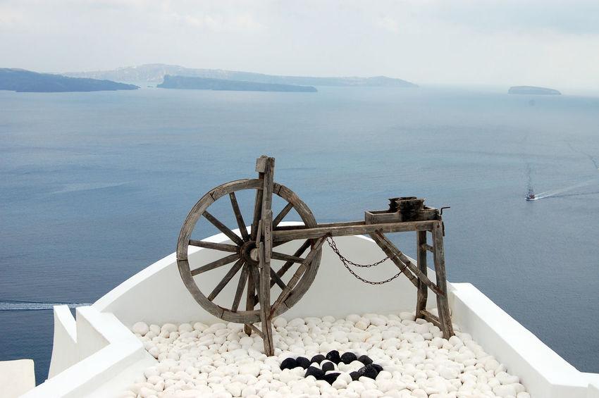 Day Nature No People Outdoors Scenics Oya Santorini Sea Seascape