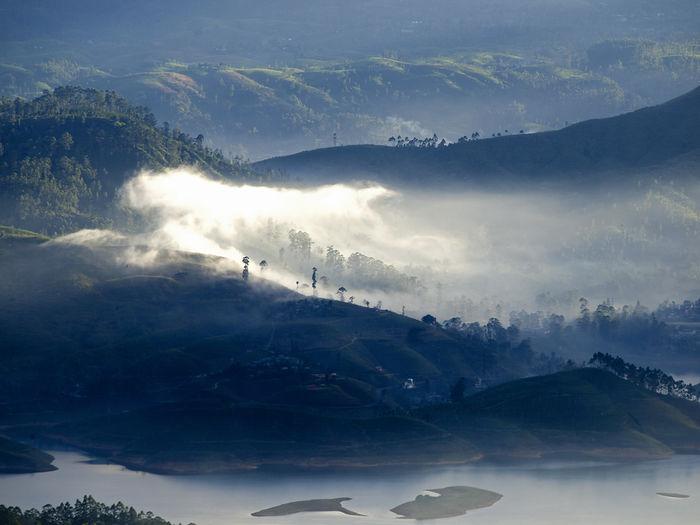 Scenic View Of Landscape In Sri Lanka