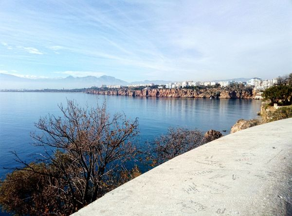 City Wiew Sea Blue Sky Sky Winter Nature Day Blue Sea