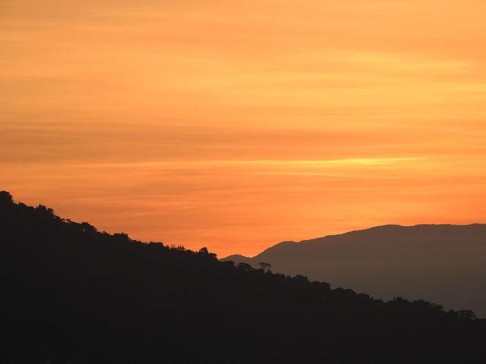 sunset in São