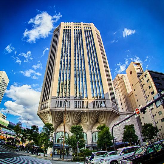 Daido Life Osaka Headquarters. Osaka, Japan. Nikon D7100   10.5mm   f/8.0   iso 100 10.5mm D7100 Daido Life Osaka Headquarters Japan Nikkor Nikkor 10.5mm Fisheye Nikon Nikon D7100 OSAKA Photography Travel Photography Traveling Wanderlust