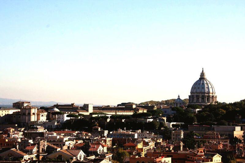 Panorama Rome Pzs Cupolone San Pietro