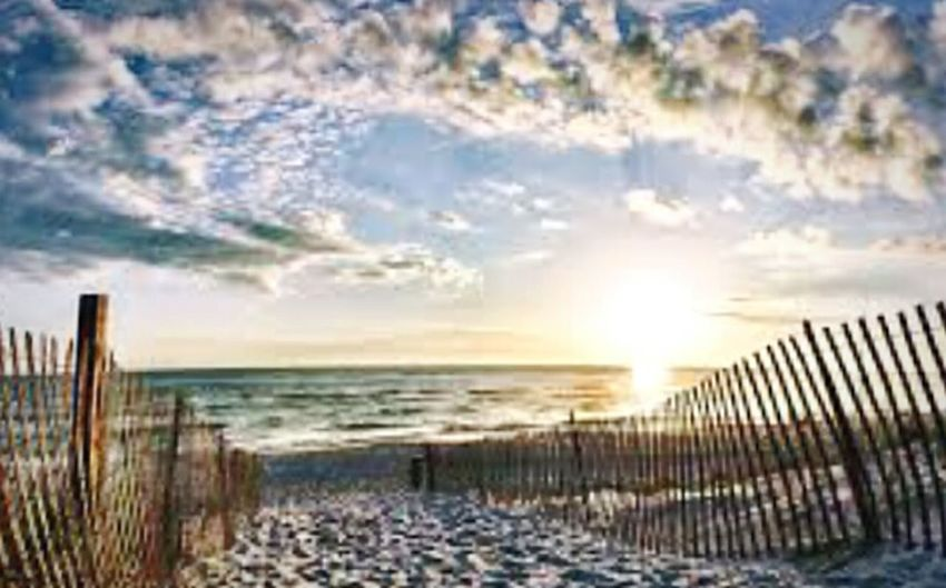 What a beautiful morning... Workout South Florida Hello World Fitness Training Beach Photography Beautiful View Open Edit Taking Photos Magical Check This Out