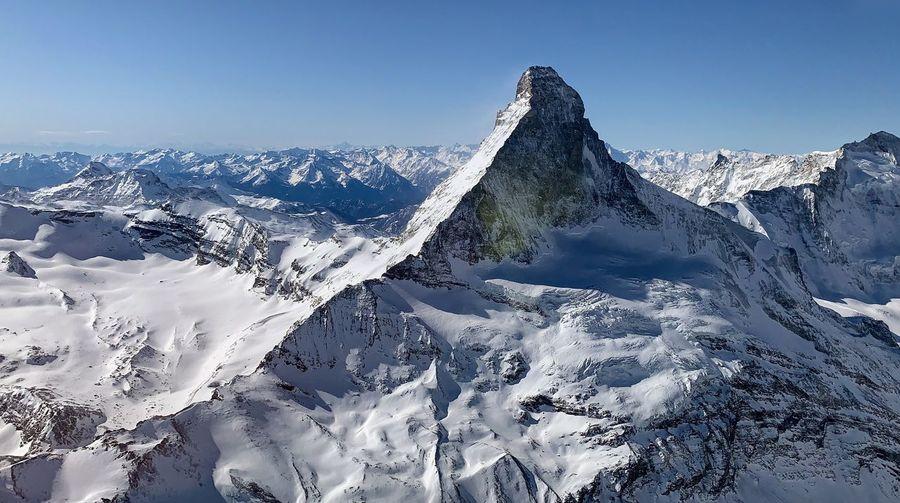 Matterhorn taken from the air