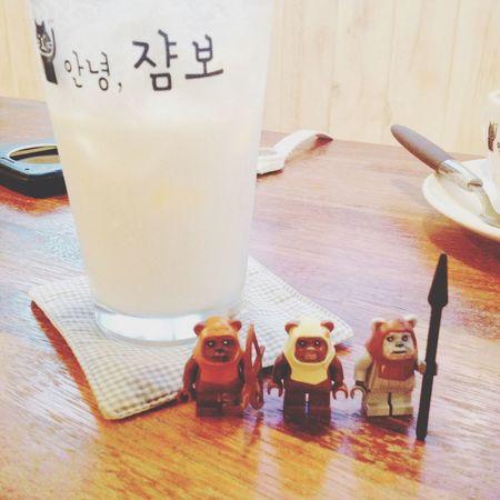 Cafe CreamSoda Lego Figure Ewok