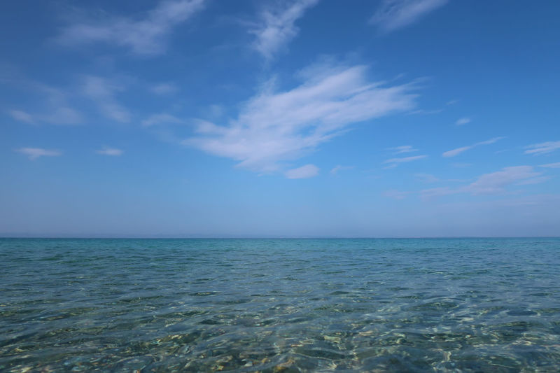 Aegean sea water Aegean Sea GREECE ♥♥ Travel Beauty In Nature Blue Clean Cloud - Sky Day Greece Horizon Horizon Over Water Idyllic Nature No People Outdoors Scenics - Nature Sea Seascape Sithonia Sky Tranquil Scene Tranquility Turquoise Colored Wallpaper Water