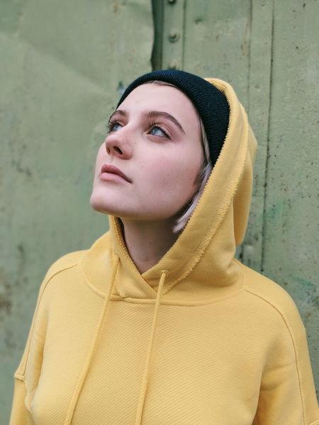EyeEm Best Shots Portrait Beautiful Woman Young Women Headshot Warm Clothing Women Sweater Fashion Front View Thinking Posing Natural Beauty Human Lips Hood - Clothing