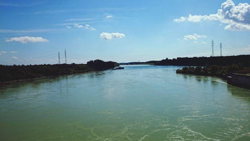 Donau Fluss Taking Photos Beautiful