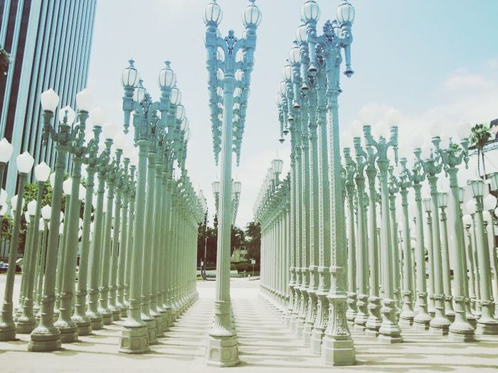 @LACMA La Museum Lacmalights California Enjoying Life Taking Photos