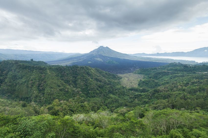Holiday in Bali, Indonesia - Kintamani Volcano view of Mount Batur Bali Bali, Indonesia Batur Beauty In Nature Cloud Dangerous Day INDONESIA Kintamani Kintamani Volcano Landscape Lava Mount Agung Mount Batur Mountain Mountain View Nature No People Outdoors Sunset Volcano